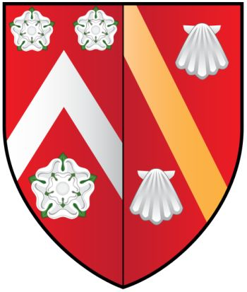 Arms of Wadham College (Oxford University)