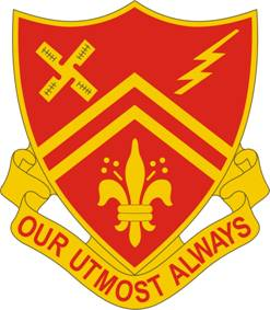 Arms of 309th Field Artillery Regiment, US Army