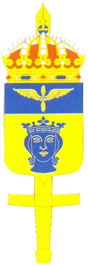 Coat of arms (crest) of the Central Air Command, Swedish Air Force