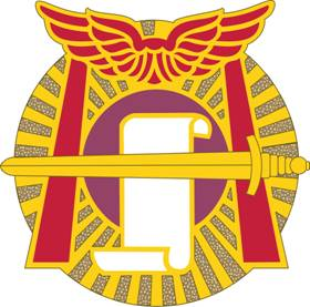 Arms of 91st Civil Affairs Battalion (Airborne), US Army