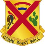 Arms of 108th Cavalry Regiment, Georgia and Louisiana National Guard