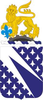 Coat of arms (crest) of the 89th Cavalry Regiment, US Army