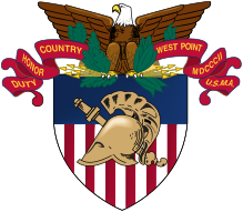 Coat of arms (crest) of the US Military Academy, US Army