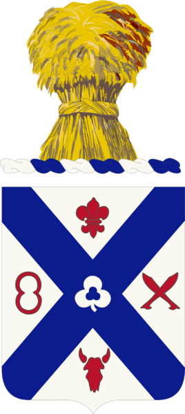 Coat of arms (crest) of the 135th Infantry Regiment, Minnesota Army National Guard
