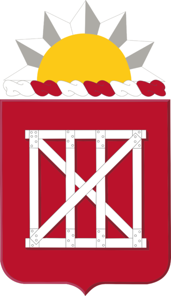 Coat of arms (crest) of the 18th Engineer Battalion, US Army