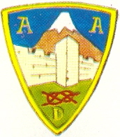 Coat of arms (crest) of the Albarracin Group of Divisions