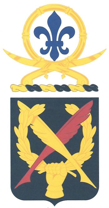 Coat of arms (crest) of the 502nd Personnel Service Battalion, US Army