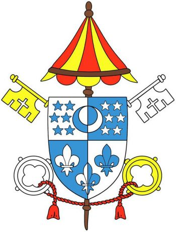 Arms (crest) of Basilica of the Immaculate Conception, Jacksonville