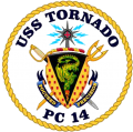 Coastal Patrol Ship USS Tornado (PC-14).png