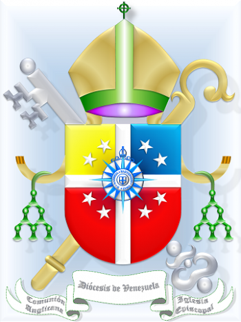Arms (crest) of Diocese of Venezuela