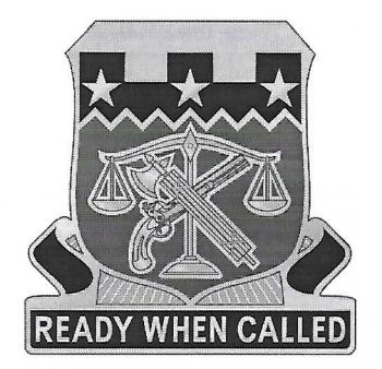Arms of 105th Military Police Battalion, North Carolina Army National Guard