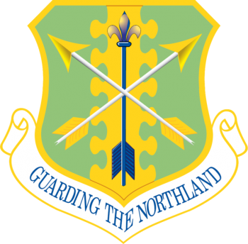 Coat of arms (crest) of the 119th Wing, North Dakota Air National Guard