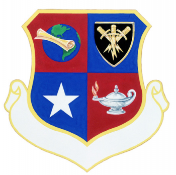 Coat of arms (crest) of the 3495th Technical Training Group, US Air Force