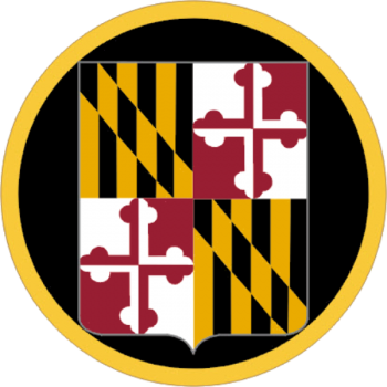 Arms of Maryland Army National Guard, US