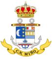 Naval Command of Miño, Spanish Navy.png