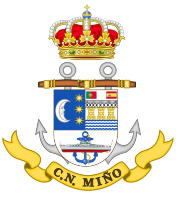 Coat of arms (crest) of the Naval Command of Miño, Spanish Navy