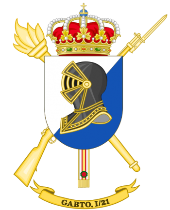 Coat of arms (crest) of the Supply Group I-21, Spanish Army
