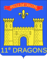 11th Dragoons Regiment, French Army.png