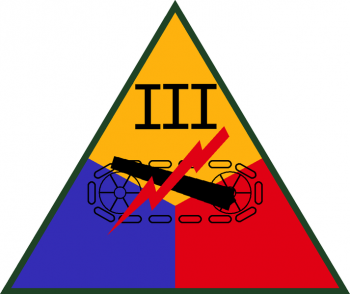 Coat of arms (crest) of the III Armored Corps, US Army
