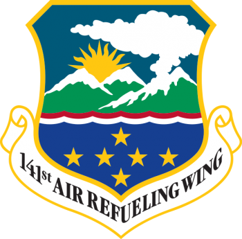 Coat of arms (crest) of the 141st Air Refueling Wing, Washington Air National Guard