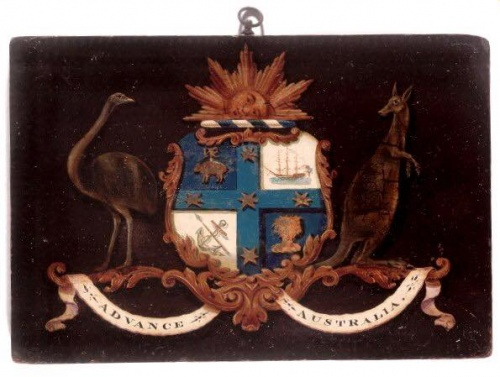 The oldest coat of arms of Australia