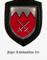 Jaeger Battalion 351, German Army.png