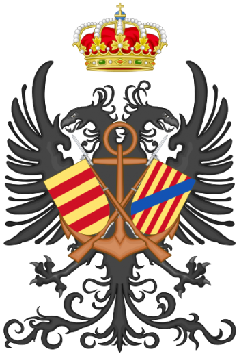 Coat of arms (crest) of the Tercio of the Navy, Spanish Navy