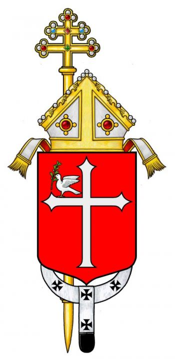 Arms (crest) of Archdiocese of Ravenna-Cervia