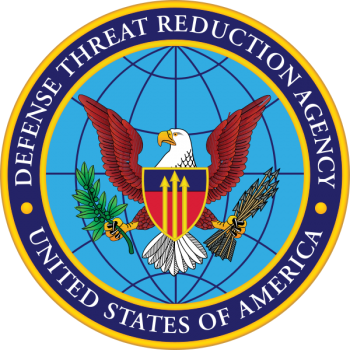 Coat of arms (crest) of the Defense Threat Reduction Agency, US