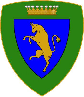 Coat of arms (crest) of the Alpine Brigade Taurinense, Italian Army
