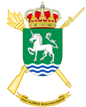 Barracks Services Unit Alférez Rojas Navarrete, Spanish Army.png