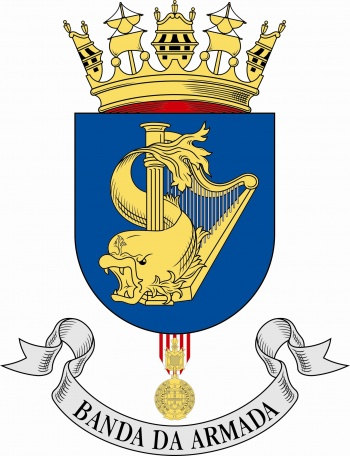 Coat of arms (crest) of the Naval Band, Portuguese Navy