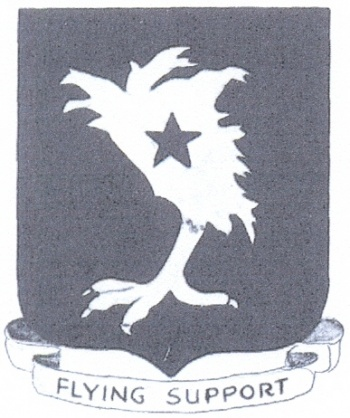 Coat of arms (crest) of the 64th Troop Carrier Group, USAAF