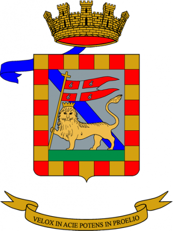 Coat of arms (crest) of the 8th Anti-Aircraft Artillery Regiment, Italian Army