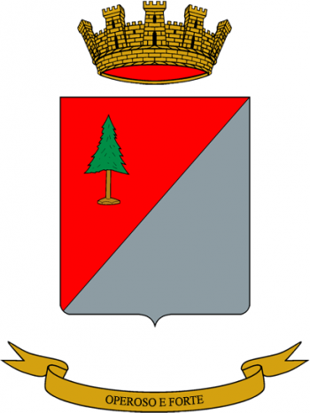 Coat of arms (crest) of the Pinerolo Logistics Battalion, Italian Army
