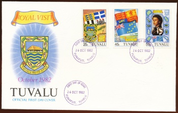 Arms of Tuvalu (stamps)