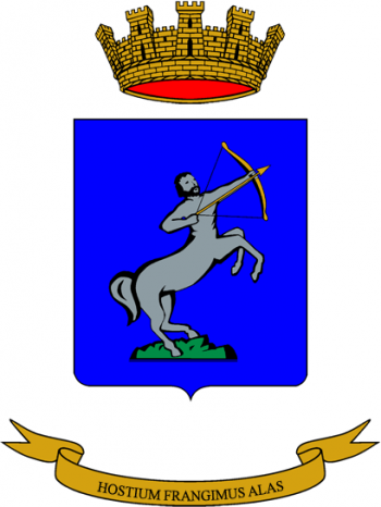 Coat of arms (crest) of the 3rd Anti-Aircraft Artillery Regiment Firenze, Italian Army