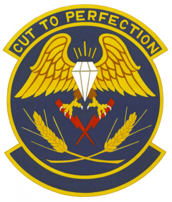Coat of arms (crest) of the 66th Aerial Port Squadron, US Air Force