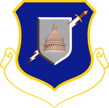 Coat of arms (crest) of the 6940th Electronic Security Wing, US Air Force