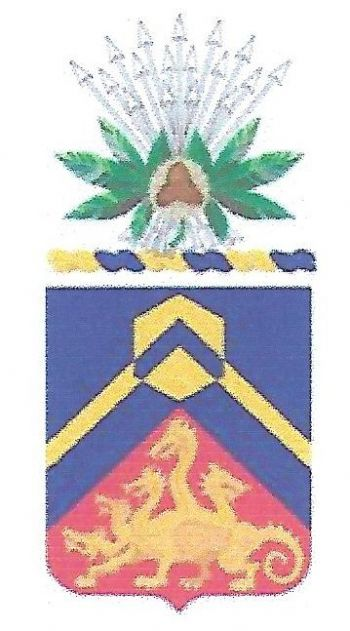 Arms of 155th Chemical Battalion, Ohio Army National Guard