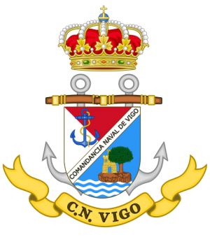 Naval Command of Vigo, Spanish Navy.png