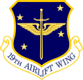 19th Airlift Wing, US Air Force.png