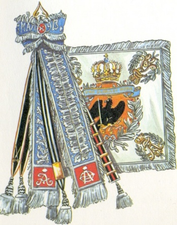 Arms of 2nd Guards Dragoon Regiment Empress Alexandra of Russia, Germany