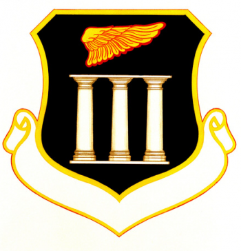 Coat of arms (crest) of the 47th Air Base Group, US Air Force