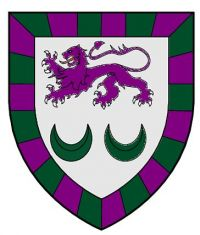 Arms of Cavanaugh Hall, University of Notre Dame