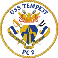 Coastal Patrol Ship USS Tempest (PC-2).png