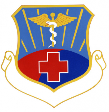 Coat of arms (crest) of the USAF Hospital Osan, US Air Force