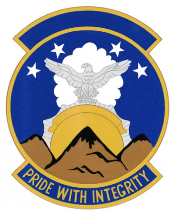 Coat of arms (crest) of the 1010th Special Security Squadron, US Air Force