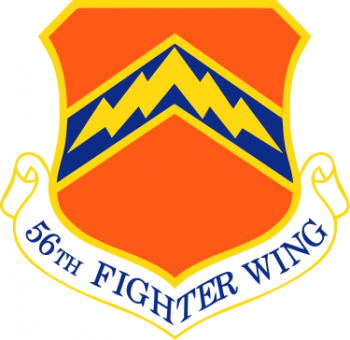 Arms of 56th Fighter Wing, US Air Force