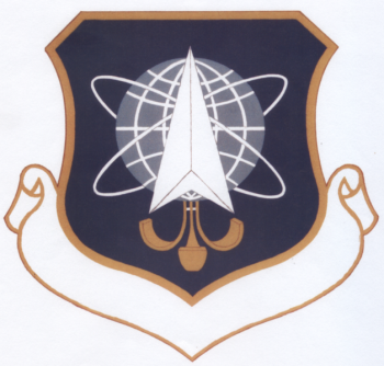 Coat of arms (crest) of the 1004th Space Support Group, US Air Force